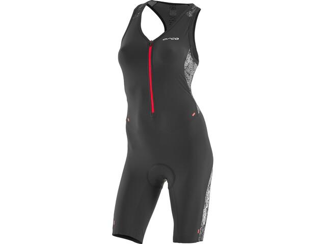 ORCA 226 Kompress Race Suit Dames, orange-black